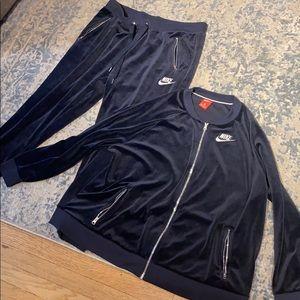Nike Velour Women's Sweatsuit